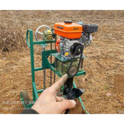 轻便植树钻眼机 大功率大马力挖坑机 手提式打眼机厂家