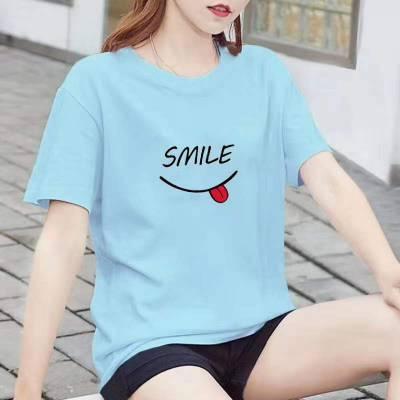 厂家大量供货春夏热卖原宿风女装杂款t恤批发 便宜好看的女装货源
