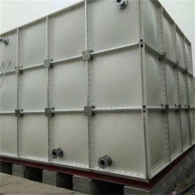 中祥供货及时-27吨组合式玻璃钢水箱定做