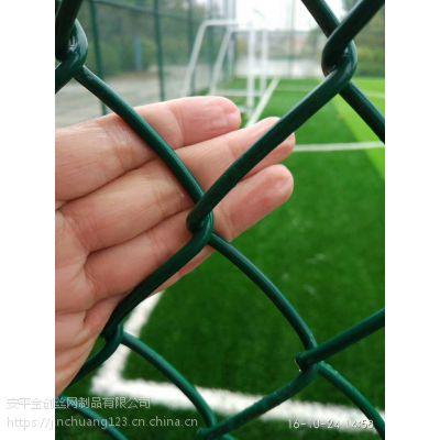 现货供应镀锌丝浸塑体育场围栏 球场围栏