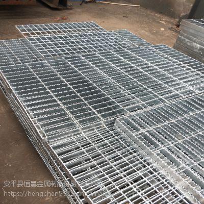 检修平台钢格栅板 广东热镀锌检修平台钢格栅 恒晨网格板厂家批发