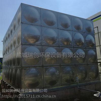 厂家直销304方形不锈钢水箱 大小定制 屋顶消防供水设备