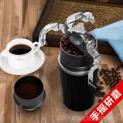 tanto太多咖啡机家用小型手动迷你便携式手摇研磨现磨手磨咖啡豆