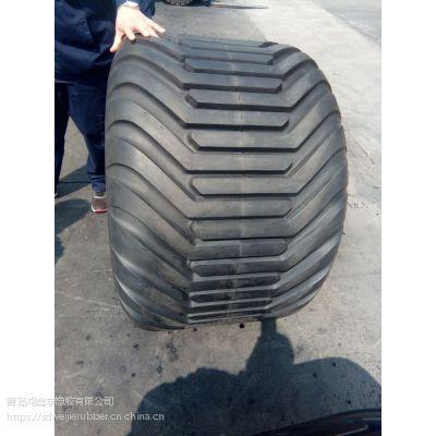 500/50R17机械车轮胎 打捆机18层级超宽轮胎真空钢圈