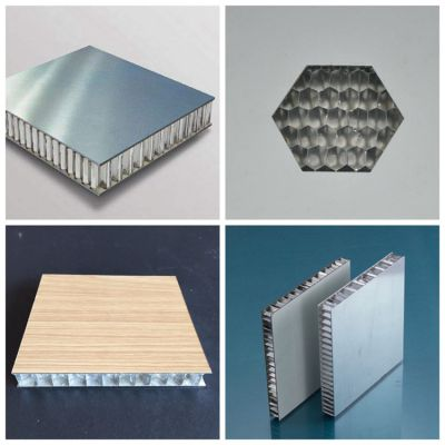 广东石纹铝蜂窝板厂家定制 铝合金复合蜂窝板幕墙隔断