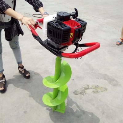 果树种植打坑机 汽油大功率地钻机 立柱埋桩挖坑机