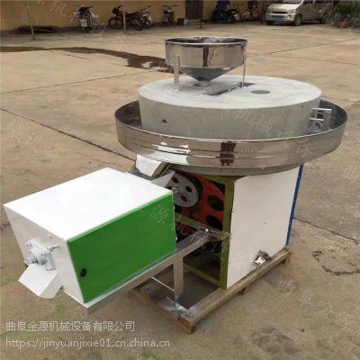 小型供应面粉石磨机 超细电动面粉石磨机厂家金源