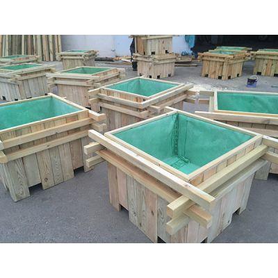 景观花箱尺寸规格-景观花箱-日照景致木业