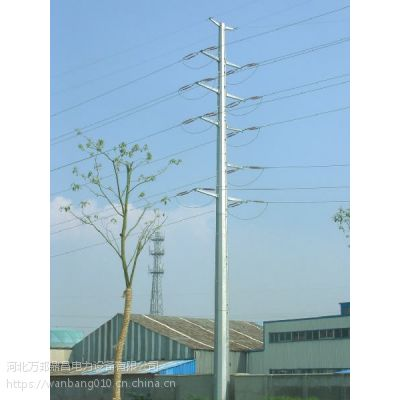 玉溪 10Kv电力钢杆 35kv电力钢管杆