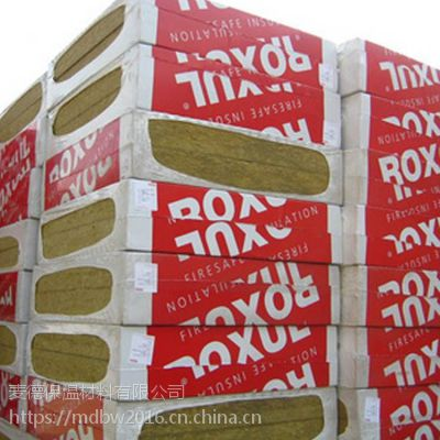 河北洛科威岩棉板防火隔音保温板110K外墙施工大型建筑西斯尔岩棉板