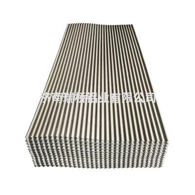 供应铝瓦楞板彩涂彩铝YX8-31.5-890型小波浪铝板材