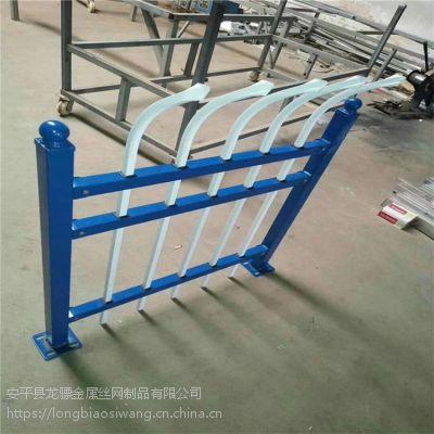 锌钢围墙护栏 别墅小区防护栏杆 铁艺围栏厂家
