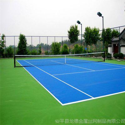 网球场围网做法 网球场围网立柱 操场围网