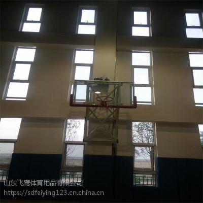 山东厂家直销壁挂升降篮球架 壁挂升降篮球架安装