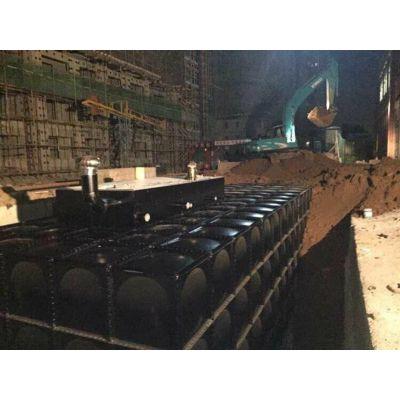 抗浮地埋式箱泵一体化 浙江抗浮式消防水池安装调试