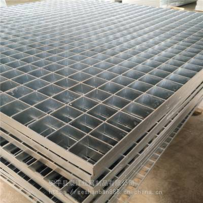 q235材质压锁钢格板_插接式镀锌钢格板_压锁钢格板厂家专业定做/泰江