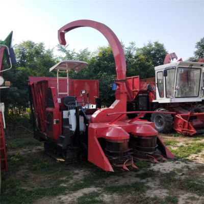 大型玉米秸秆还田青储机 履带式青储收割机 自走式青储机