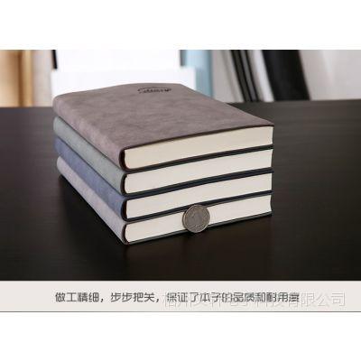 男士带笔记本文具本子级手写耐磨耐脏加厚A5皮面商务记事本