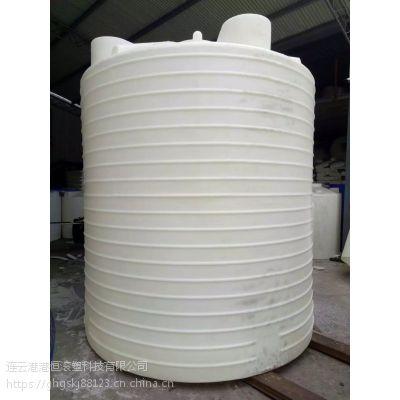 10顿塑料水箱圆柱水桶10立方pe储罐