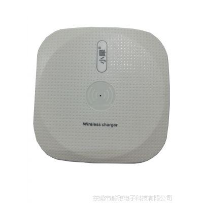 酷雅新款无线充电器 快速无线充电手机 黑色、白色 10W两种 可定制