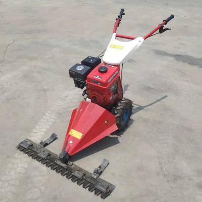 手推式打草机 汽油自走式草坪修剪机 多功能园林草坪修剪机