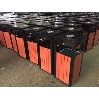 钢制户外垃圾桶定制 环保垃圾桶分类果皮箱 室外垃圾箱福建厂家批发