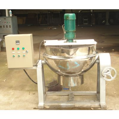 鹿胶熬制夹层锅 可控温度鞋油膏搅拌夹层锅