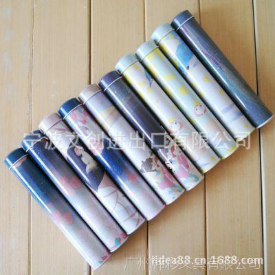 日韩国文具批发 斯普维加  花与星空圆形笔筒 学习文具  笔筒