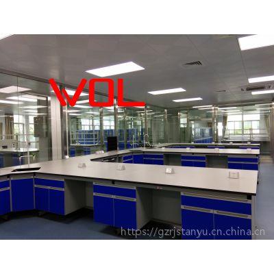 钢木实验台定制 实验室操作台 边台 洁净台定制 实验室工程装修WOL