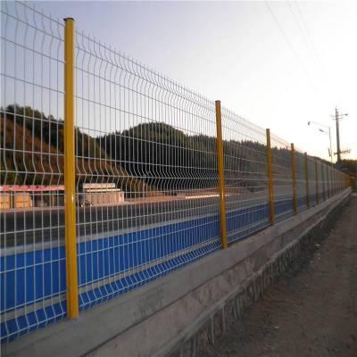 甘肃厂区隔离栅 金属围网 工厂护栏网 铁丝网围墙