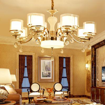 开封市客厅灯价格 水晶蜡烛吊灯 卧室灯饰