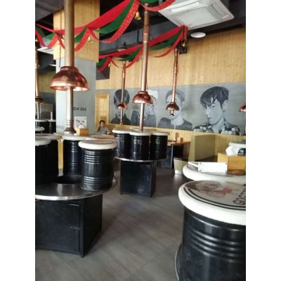 东北烤肉店3个炉头油烟排放标准油烟净化器配置标准