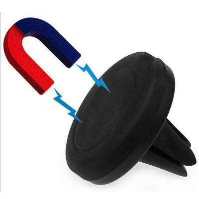 手机支架可定制logo通用多功能圆形磁性出风口手机支架深圳厂家直销