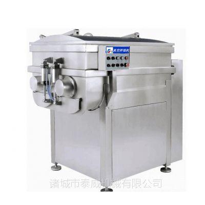 泰威400L全自动水饺海带酱菜双绞龙拌馅机