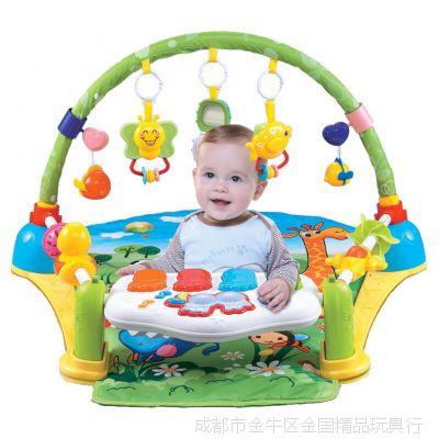 多功能  脚踏琴健身架838-53  音乐玩具 澄海玩具