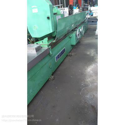 上海机床3米外圆磨床型号MQ1350B导轨完美可以试机