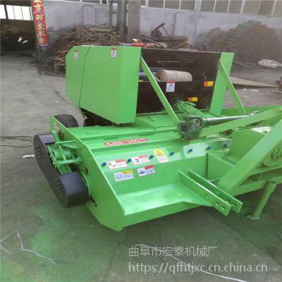 吉林地区厂家供应HTF130粉碎打捆机 机械传动曲阜宏泰