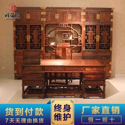 儿童红木书桌图片大全 清朝红木书桌价格