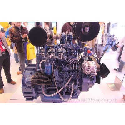潍柴道依茨WP4G95E221柴油机 柳工CLG777A挖掘装载机用72KW发动机