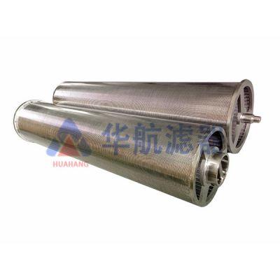 华航厂家定制生产不锈钢楔形梯形丝自清洗滤芯