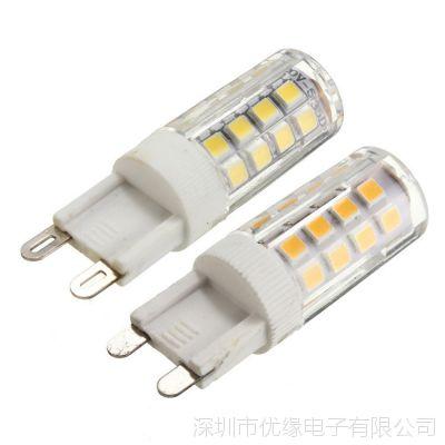 热销家居灯 G9 5W 2835 35smd 陶瓷灯头 家用灯不可调220-240V