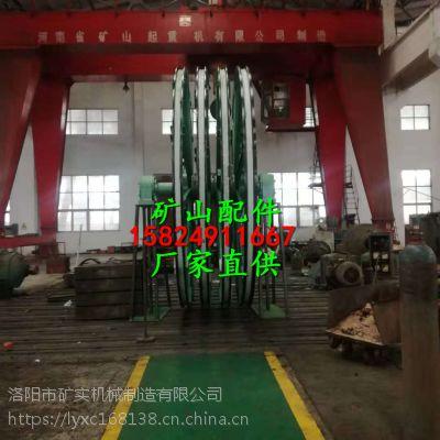 矿实生产 提升机主导轮衬块/卷扬机导向轮衬垫 天轮衬垫 欢迎来电洽谈