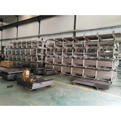 上海悬臂货架规格 伸缩双悬臂货架设计原理 材料存取方便省空间
