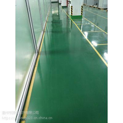 环氧地坪漆有什么特性 有优异的附着力 韧性好 【温州豫信地坪】美观又实用