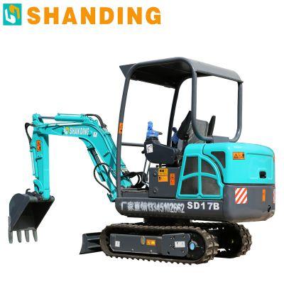 工地用履带式挖掘机 橘子园用小型挖掘机厂家
