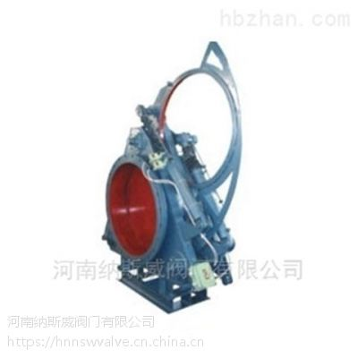 郑州F743X液动扇形眼镜阀厂家,纳斯威碳钢液动扇形眼镜阀价格