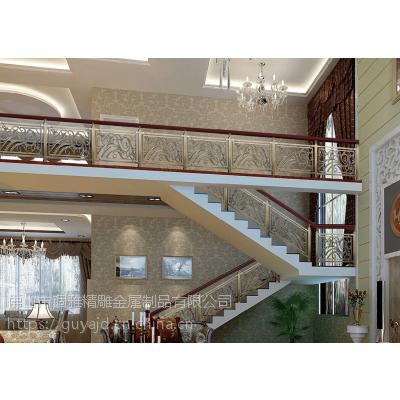 酒店KTV经典装饰纯铜雕花护栏,铜板雕刻镂空楼梯护栏