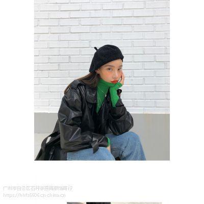 兰梦萱品牌女装一手货源购买 精品女装折扣批发货源尾货白色羽绒裤
