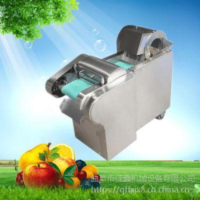 佳鑫尺寸可调不锈钢切菜机 多种号辣椒切段机 圆茄子家用切条机厂家