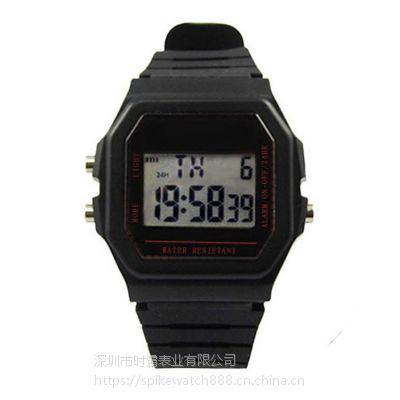 SPIKE手表厂家直销外贸爆款时尚普通多功能电子手表